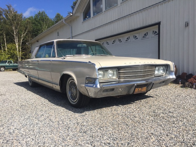1965 CHRYSLER NEW YORKER 4 DHT SÅLD
