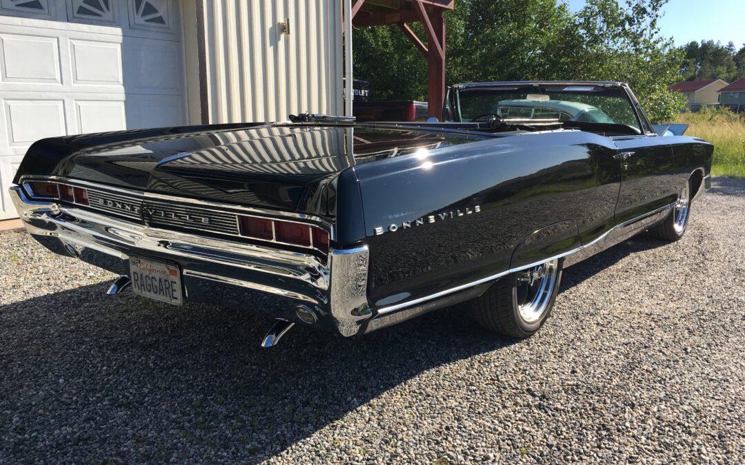 1965 Pontiac Bonneville conv. Såld.