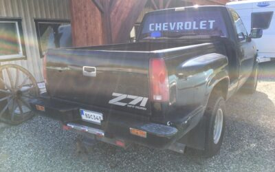 1990 CHEVY Z71 4X4 STEPSIDE SÅLD