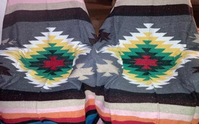 Mexican blanket in gray! 399.-/st (FL62)