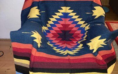 Nya handgjorda filtar med starka färger från Mexico! 399:-/st Fl 3