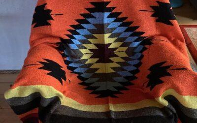 Nya handgjorda filtar med starka färger från Mexico! 399:-/st Fl 21